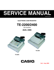 Casio TE-2200 Service Manual