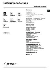 indesit iwc 5085 manuals rh manualslib com indesit iwc 5085 service manual indesit iwc 6103 service manual