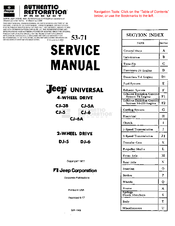 jeep service manuals pdf
