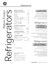 Ge GFE28HMHBES Manuals on