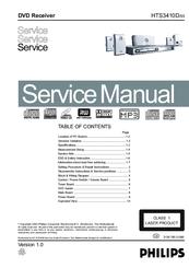 philips hts3410d 55 manuals rh manualslib com Philips TV User Manual Philips TV User Manual