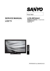 sanyo lcd dp55441 manuals rh manualslib com Walmart Sanyo Television Walmart Sanyo Television