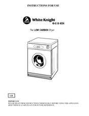 white knight eco 83a manuals rh manualslib com White Knight Meme white knight 44aw service manual