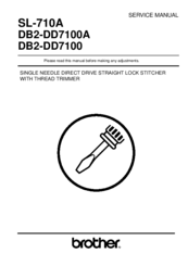 Brother S-710A Service Manual