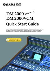 Yamaha Dm Vcm Manual