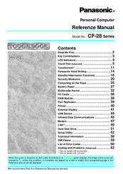 Panasonic CF-28 Reference Manual