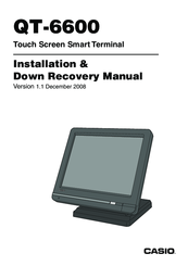Casio QT-6600 Installation & Down Recovery Manual
