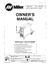 miller millermatic 250mp manuals rh manualslib com miller 252 welder parts list miller 252 welder parts