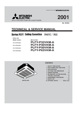 Mitsubishi Electric PLFY-P40VKM-A Technical & Service Manual
