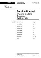 whirlpool awt 8123 d service manuals rh manualslib com WJR III Technical Manual Technical Manual Clip Art