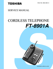 Toshiba FT-8901A Service Manual