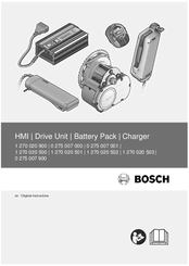 Bosch 1 270 020 501 User Manual