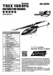 ALIGN TREX 150 SFC RH15E01XT INSTRUCTION MANUAL Pdf Download