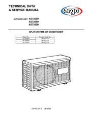 argo ae735sh manuals