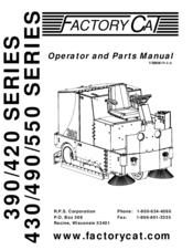 factory cat 390 series operator and parts manual pdf download rh manualslib com factory cat magnum parts manual factory cat magnum parts manual