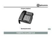 Amplicomms Powertel 50 Alarm Plus Operating Instructions Manual