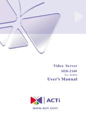 ACTi SED-2140 Driver