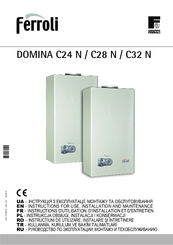 Ferroli domina c32 n manuals for Ferroli domina c 24 e