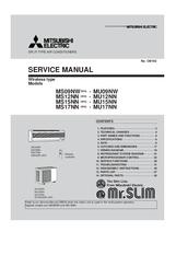 Mitsubishi Mr.Slim MS12NN Service Manual