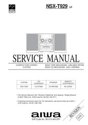 aiwa nsx t929 manuals rh manualslib com Aiwa Nsx T939 Aiwa Stereo System NSX D60