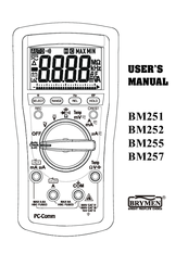 BRYMEN BM252 USER MANUAL Pdf Download