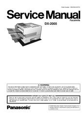 Panafax dx-2000 manual.
