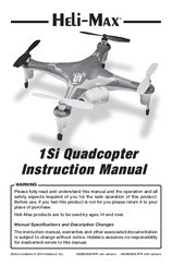 Heli-max 1Si Quadcopter Manuals