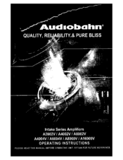 audiobahn a4002v manuals rh manualslib com Audiobahn Subwoofers Audiobahn Flame Q 12