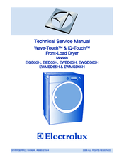 Electrolux EIED55H IW Technical & Service Manual