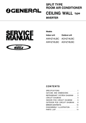 o general air conditioner user manual