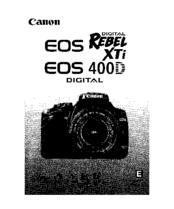 canon eos digital rebel xti manuals rh manualslib com canon eos rebel xti user manual canon rebel xti user manual pdf