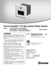 Truma Aquago Basic Manuals