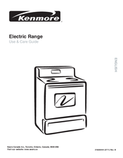Kenmore C970-575171 Use & Care Manual