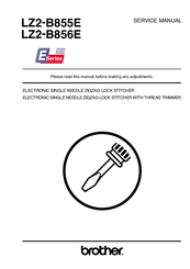 Brother LZ2-B855E Service Manual