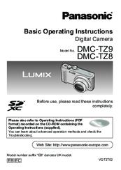 panasonic dmc tz9 manuals rh manualslib com Panasonic Lumix G Panasonic Lumix G