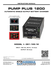 921115_pump_plus_1200_09119312_product kussmaul pump plus 1200 091 193 12 manuals kussmaul auto charge 1200 wiring diagram at panicattacktreatment.co
