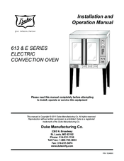 duke 6 13 manuals rh manualslib com Electric Oven Wiring GE Oven Wiring Diagram