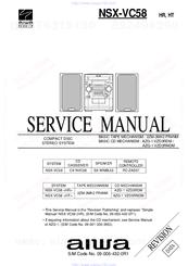 aiwa nsx vc58 hc manuals rh manualslib com