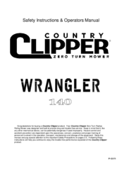 country clipper wrangler 140 operator s manual pdf download rh manualslib com The Clipper Bean Cleaner Diagrams Stewart Oster Animal Clipper Parts
