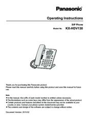 Panasonic Kx-hdv130 Инструкция - фото 9
