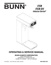 Bunn Coffee Maker Initial Setup : Bunn ITCB-DV Manuals