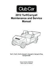 club car carryall 2 plus service manual