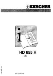 Karcher hd 755 Manual