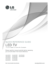lg tv remote instructions
