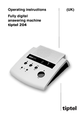 Festnetztelefone & Zubehör Tiptel 204