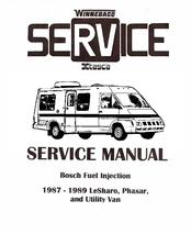 winnebago 1987 1989 lesharo manuals rh manualslib com Mini Winnebago LeSharo Winnebago LeSharo RV Cabinets