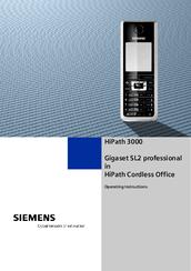 siemens hipath 3000 v3 0 or later gigaset m1 professional manuals rh manualslib com siemens hipath 3350 user manual siemens hipath 3350 manual pdf