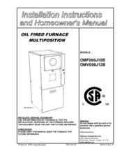 Installation guide and owner's manual.