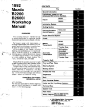 b2600 workshop manual online user manual u2022 rh pandadigital co mazda bravo b2600 workshop manual pdf mazda b2600 workshop manual free download