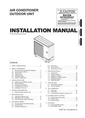 fujitsu air conditioner installation manual